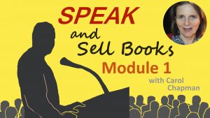 Speak and Sell Books Course