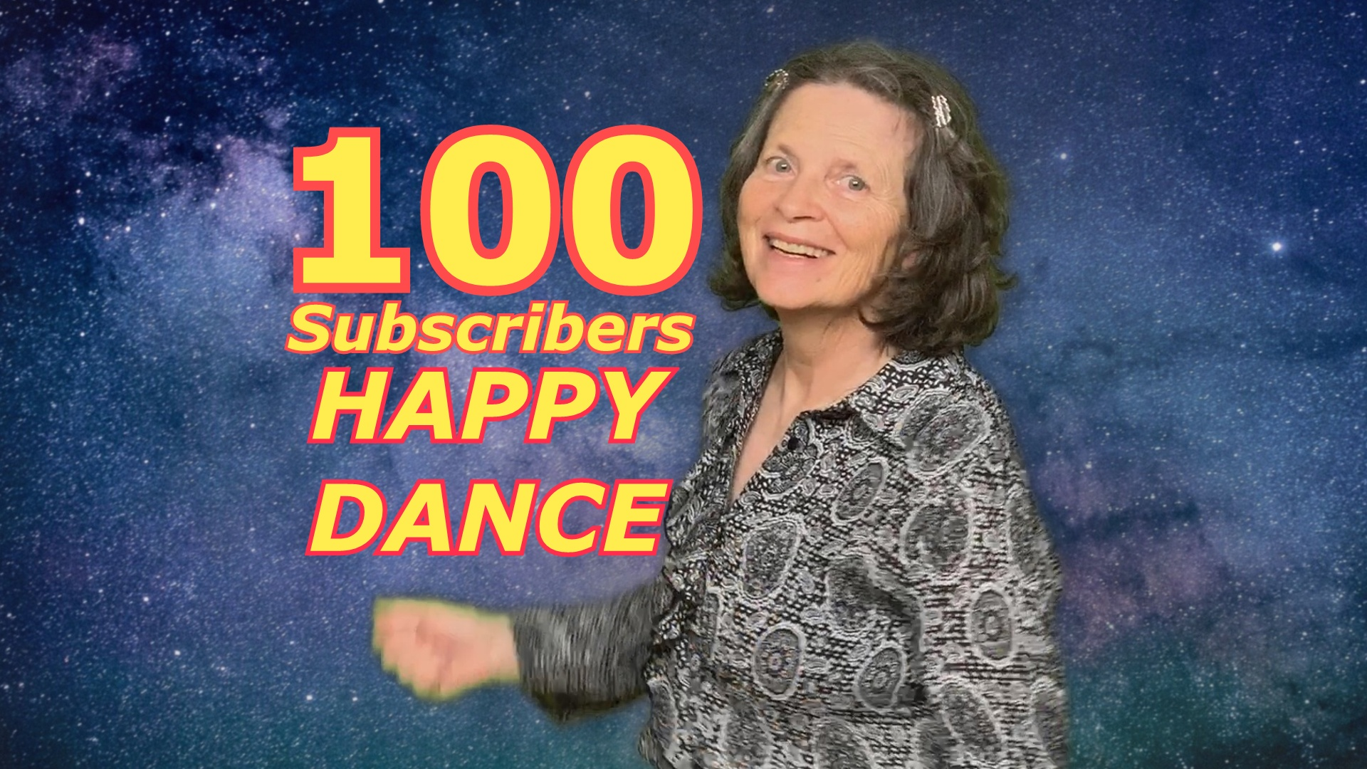 100 Subscriber Happy Dance - YouTube