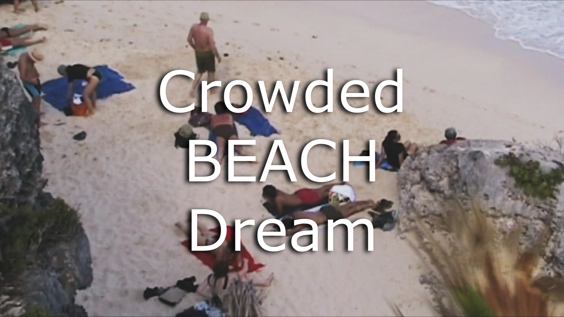 crowded beach dream meaning