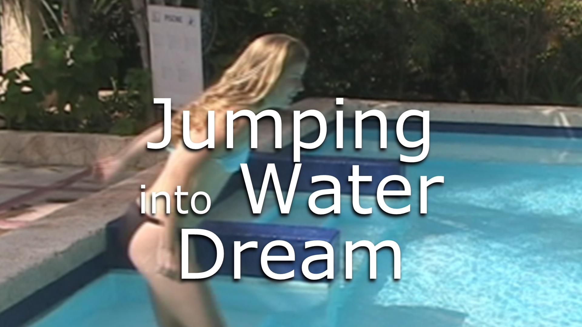 What does it mean when you dream about jumping into water