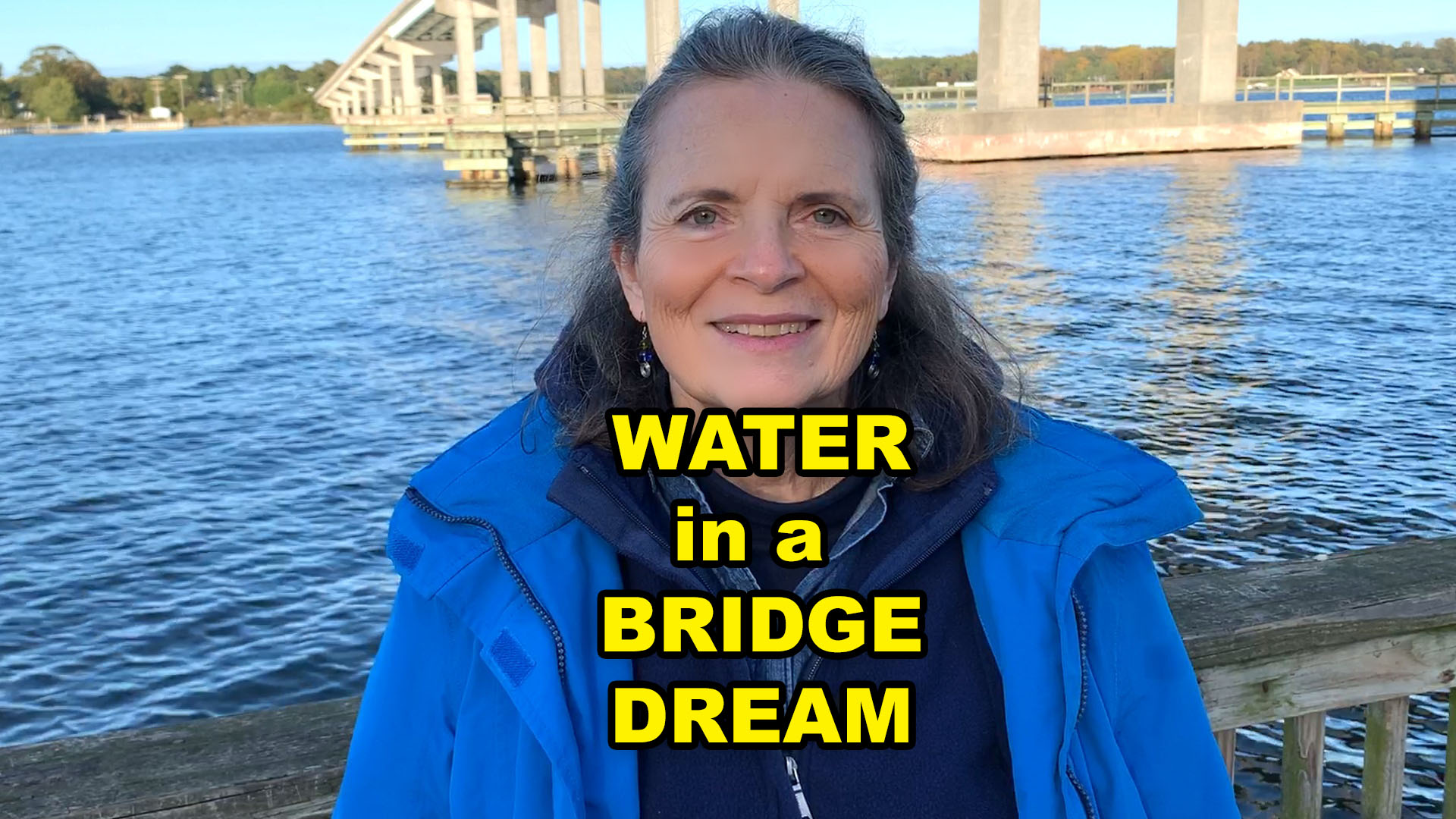 what does water mean in a bridge dream