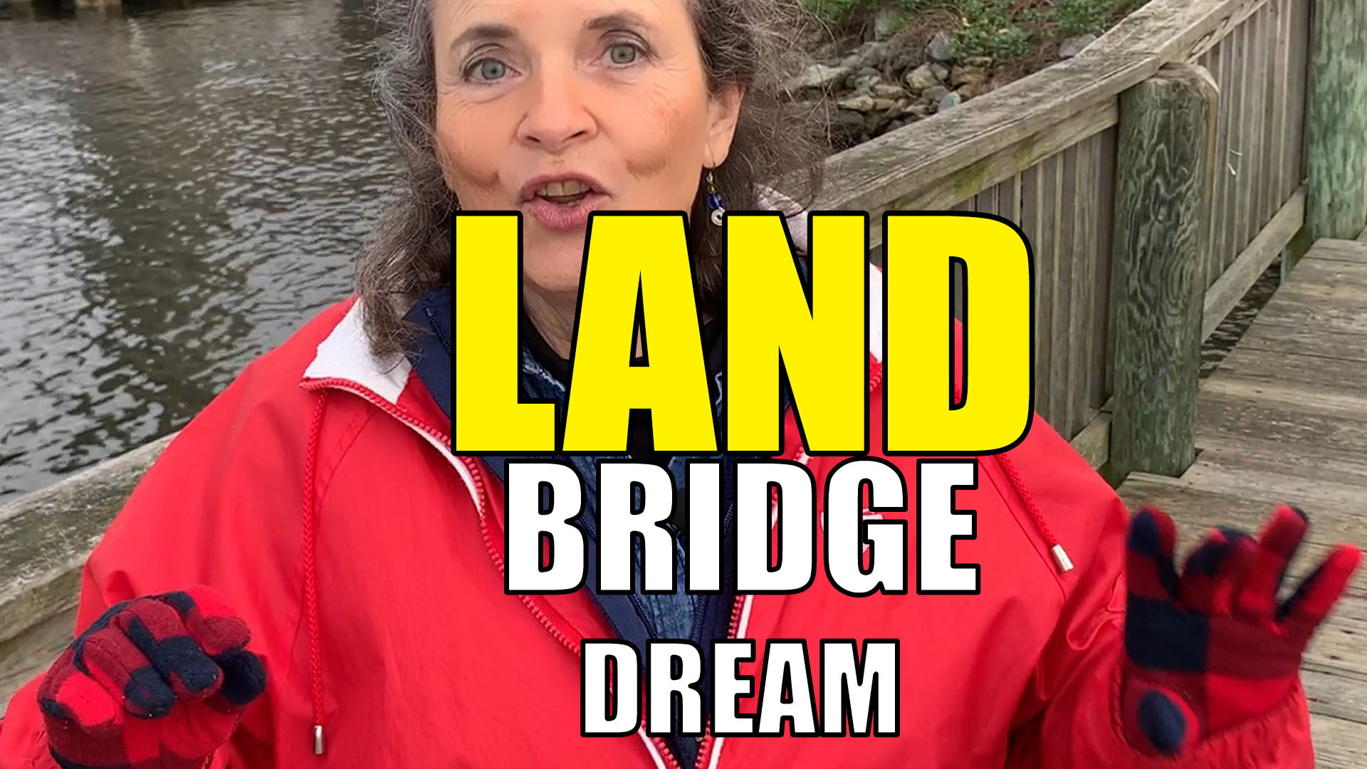 what does land mean in a bridge dream
