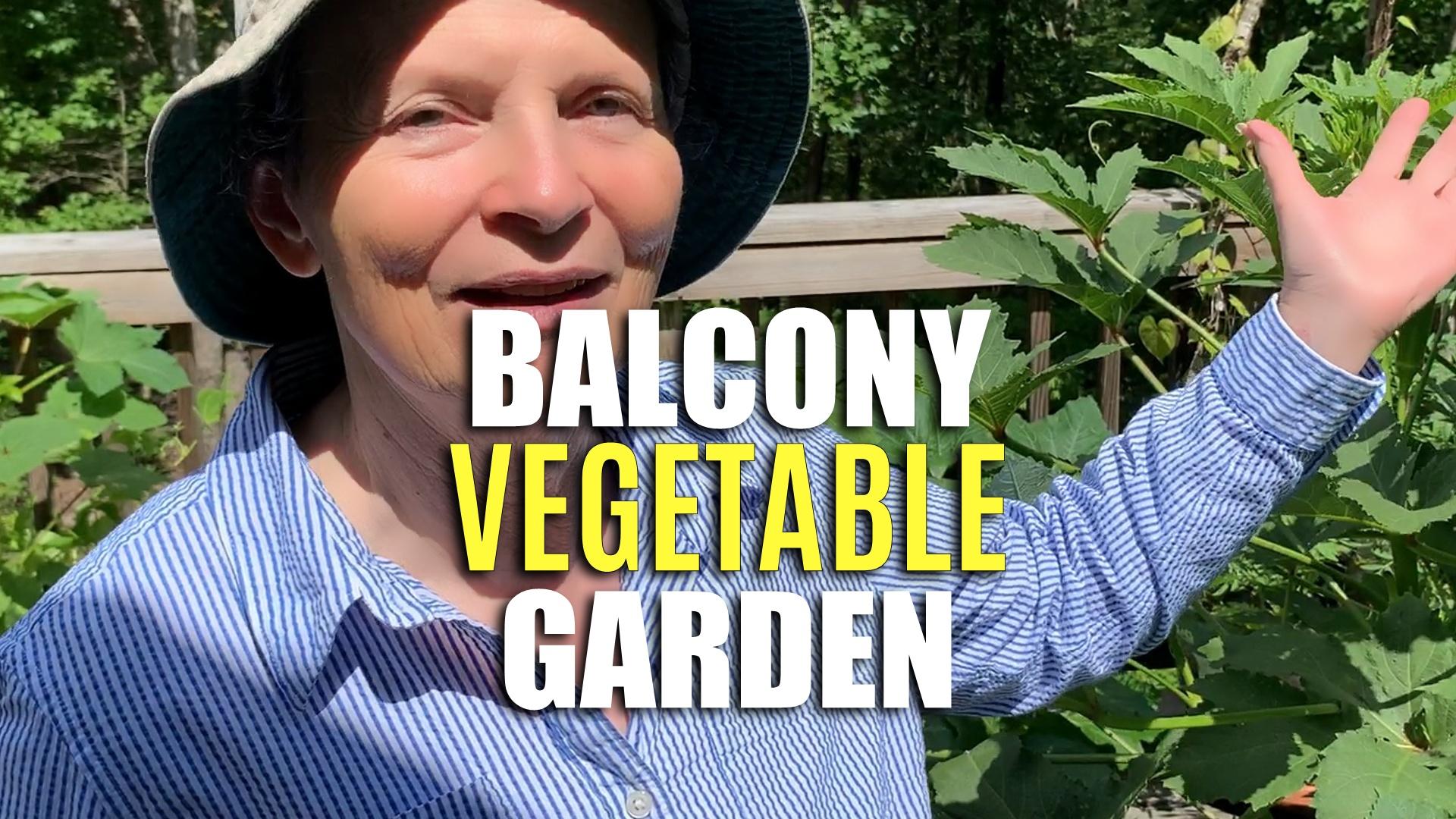 Grow a Balcony Vegetable Garden